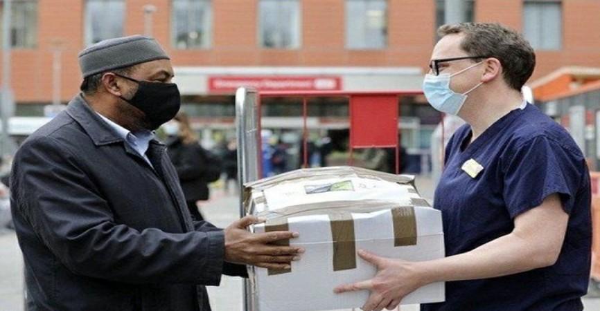 London məscidi hər gün tibb işçiləri və ehtiyaclı insanlara iftar verir